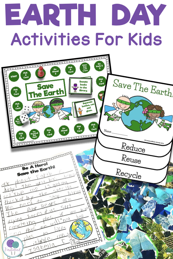earth day freebies first grade