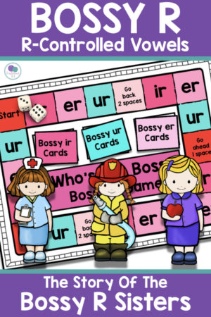 Bossy R Activities for First Grade